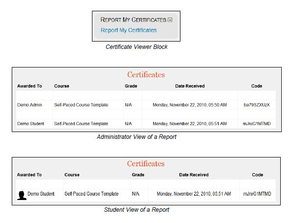 EasyCampus Certificate Viewer
